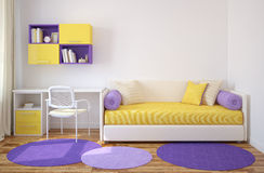 Интерьер playroom. Стоковая Фотография RF