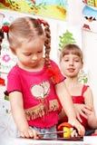 playroom grupowi ludzie Obrazy Royalty Free
