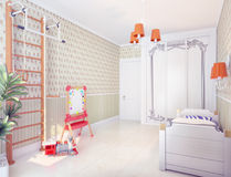 Playroom interior Stock Photos
