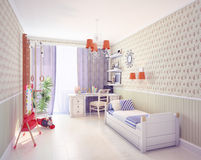 Playroom interior Stock Images