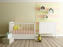Playroom interior Royalty Free Stock Photo