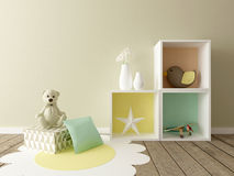 Playroom interior Stock Photo