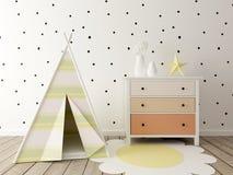 Playroom interior Royalty Free Stock Photo