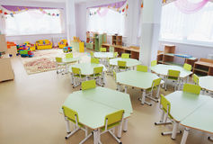 Playroom in a kindergarten Royalty Free Stock Photos