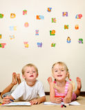 Playschool fun child Royalty Free Stock Image