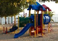 Playset de los niños en la playa Imagen de archivo