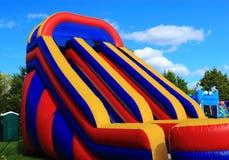 Playset inflável Fotografia de Stock Royalty Free