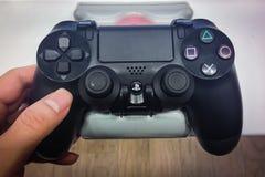 Playstation 4 ελεγκτής Στοκ εικόνα με δικαίωμα ελεύθερης χρήσης