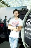 @PlayStation του Miguel Faisca - ακαδημία της GT, 2014 Στοκ φωτογραφία με δικαίωμα ελεύθερης χρήσης
