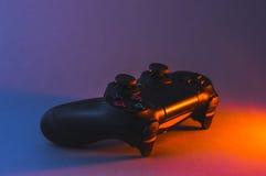 Playstation 4控制器 库存图片