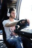 @PlayStation de Miguel Faisca - académie du GT, 2014 Photo libre de droits