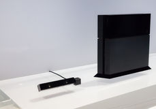 PlayStation 4 and PlayStation Camera Royalty Free Stock Photos