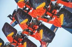 Super Flying Amusement Royalty Free Stock Photos