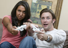 Playtime Battle Stock Image