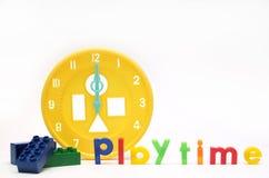 Playtime com blocos Fotografia de Stock