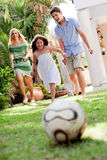 Playtime, Outdoors At Sunny Day Stock Photos