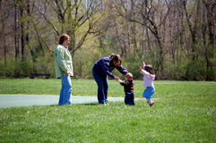 Playtime at the Park Stock Photos