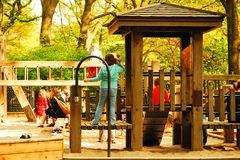 Playtime at the playground royalty free stock photos
