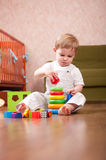 Playtime in playroom Stock Photography