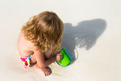 Playtime on the Sand Royalty Free Stock Images