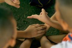 Playying di un bambino, tailandese, Immagini Stock Libere da Diritti