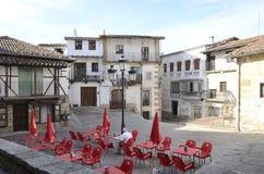 Plaza à Candelario Images libres de droits