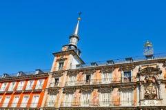 Plaza δήμαρχος Main Square στη Μαδρίτη, Ισπανία Στοκ φωτογραφία με δικαίωμα ελεύθερης χρήσης