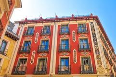 Plaza δήμαρχος Main Square στη Μαδρίτη, Ισπανία Στοκ Εικόνες