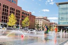 plaza αστικό Στοκ Εικόνα