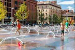 plaza αστικό Στοκ εικόνες με δικαίωμα ελεύθερης χρήσης