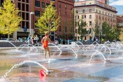 plaza αστικό Στοκ Φωτογραφία
