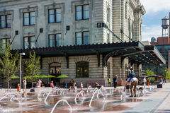 plaza αστικό Στοκ εικόνα με δικαίωμα ελεύθερης χρήσης