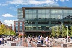 plaza αστικό Στοκ φωτογραφία με δικαίωμα ελεύθερης χρήσης