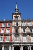 plaza δημάρχου της Μαδρίτης Στοκ εικόνα με δικαίωμα ελεύθερης χρήσης