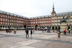 plaza δημάρχου Στοκ Εικόνες