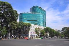 Plaza διαμαντιών στην πόλη Hochiminh, Βιετνάμ Στοκ Φωτογραφίες