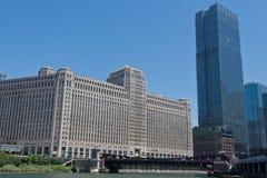 plaza εμπορευμάτων οικοδόμησης Σικάγο Στοκ φωτογραφία με δικαίωμα ελεύθερης χρήσης