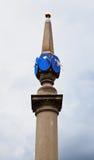 plaza επτά της Αγγλίας Λονδίνο πινάκων πινάκων ήλιος Στοκ Εικόνα
