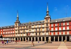 plaza δημάρχου της Μαδρίτης Στοκ εικόνες με δικαίωμα ελεύθερης χρήσης