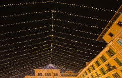 Plaza θάλαμοι προμηθευτών αγοράς δημάρχου Christmas Στοκ Φωτογραφίες