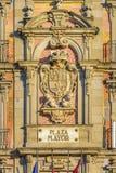 plaza Ισπανία δημάρχου της Μαδρίτης Στοκ Εικόνες
