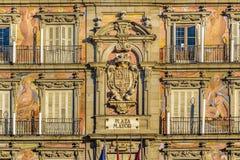 plaza Ισπανία δημάρχου της Μαδρίτης Στοκ εικόνα με δικαίωμα ελεύθερης χρήσης