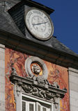 plaza Ισπανία δημάρχου της Μαδ&rh Στοκ εικόνες με δικαίωμα ελεύθερης χρήσης
