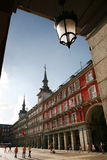 plaza Ισπανία δημάρχου της Μαδ&rho Στοκ εικόνα με δικαίωμα ελεύθερης χρήσης