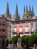 plaza Ισπανία δημάρχου του Burgos Στοκ Εικόνα