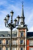 plaza Ισπανία δημάρχου της Μαδρίτης Στοκ εικόνες με δικαίωμα ελεύθερης χρήσης