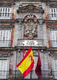 plaza Ισπανία δημάρχου της Μαδρίτης Στοκ Εικόνα