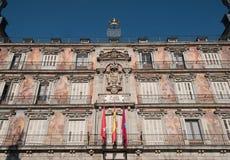 plaza Ισπανία δημάρχου της Μαδρίτης Στοκ Φωτογραφίες