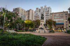 Plaza Ιταλία στο Παλέρμο - το Μπουένος Άιρες, Αργεντινή Στοκ Φωτογραφία