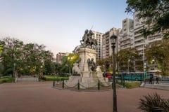 Plaza Ιταλία στο Παλέρμο - το Μπουένος Άιρες, Αργεντινή Στοκ Εικόνα